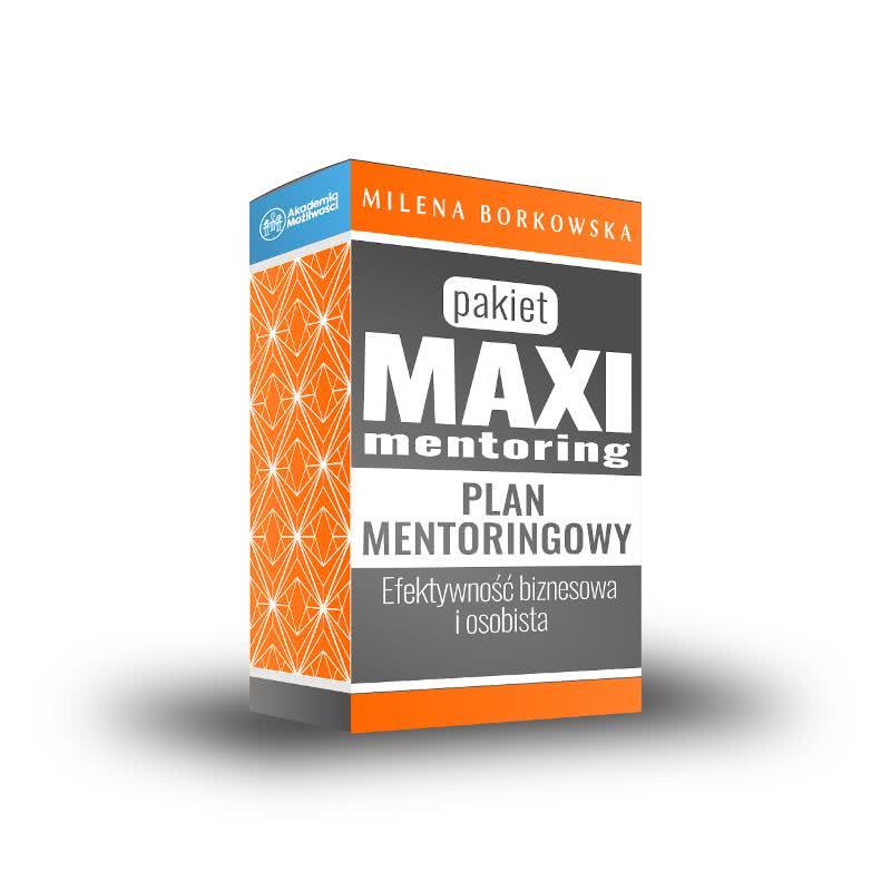 Mentoring biznesowy- Pakiet MAXI - Milena Borkowska Akademia Możliwości