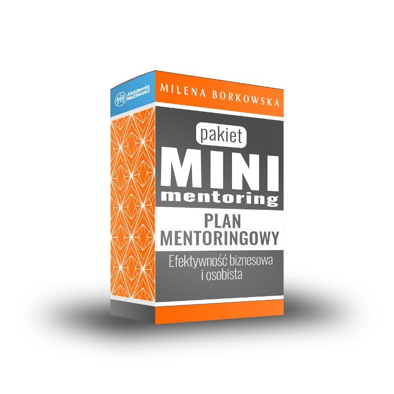 Mentoring biznesowy- Pakiet MINI - Milena Borkowska Akademia Możliwości