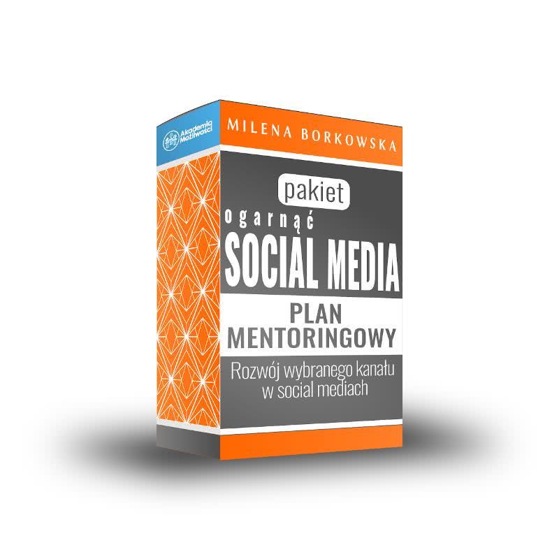 Mentoring biznesowy- Ogarnąć Social Media - Milena Borkowska Akademia Możliwości